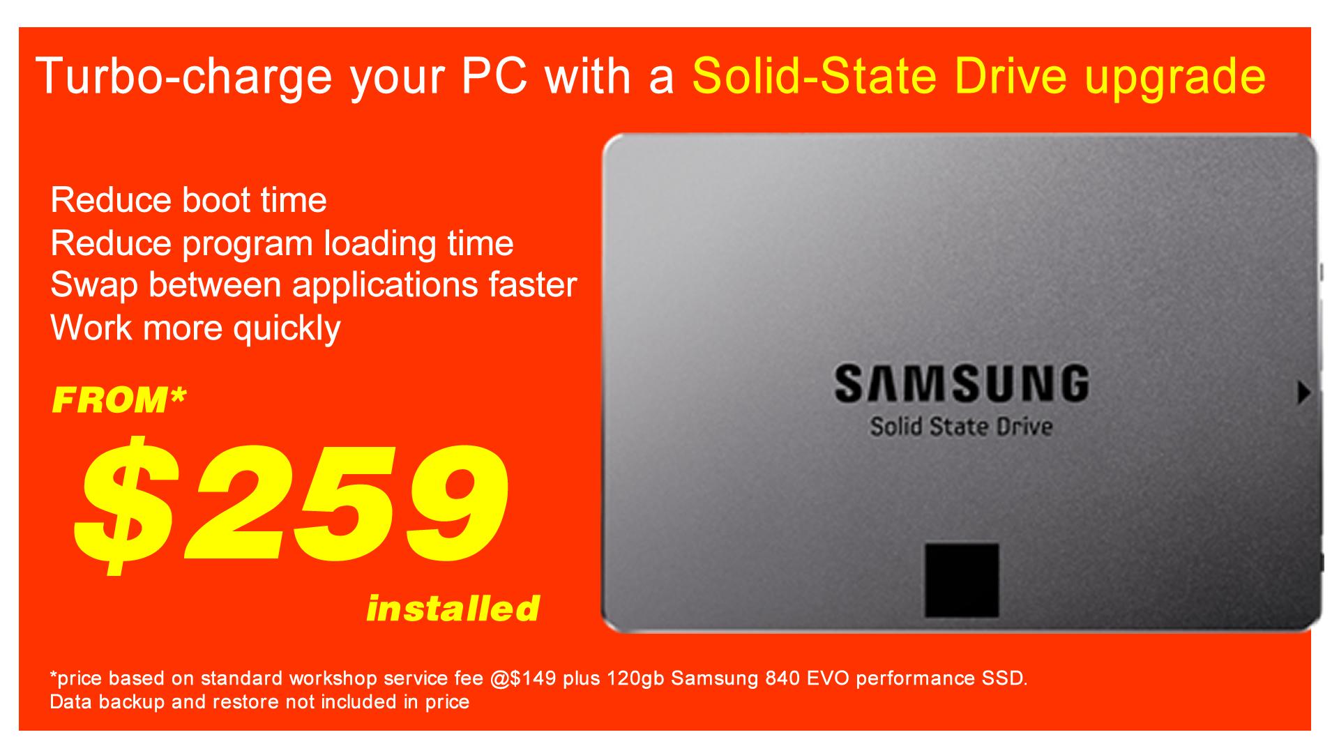 SSD upgrade 1080