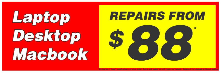 Repairs from $88